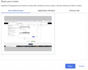 coding test share screen